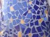 Detalle mosaico azul