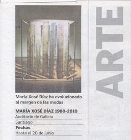 La Voz de Galicia (24 de abril)
